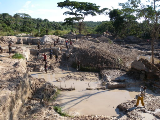 Remote Sensing in support of artisanal and small-scale gold mining (ASGM) policy development