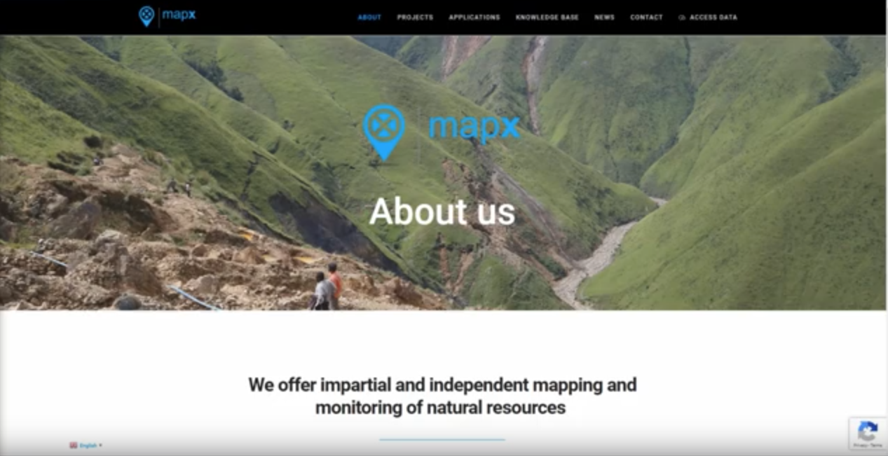 GRID-Geneva team created a video tutorial on the use of the MapX application